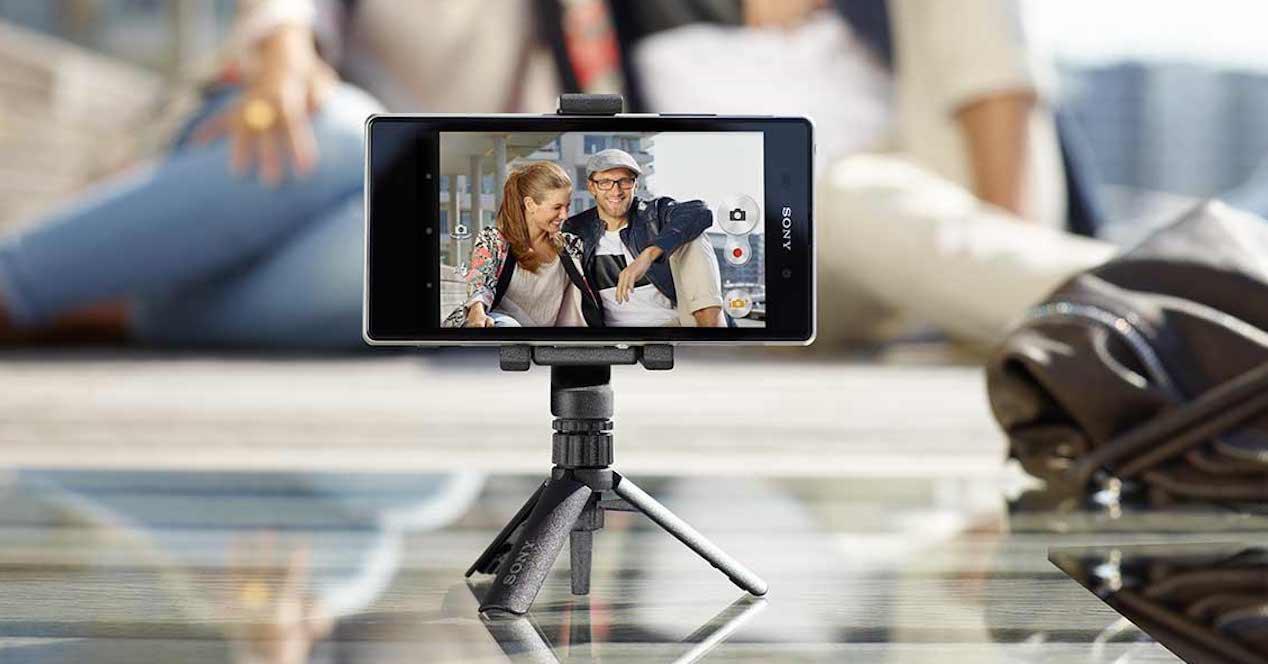 smartphone tripode