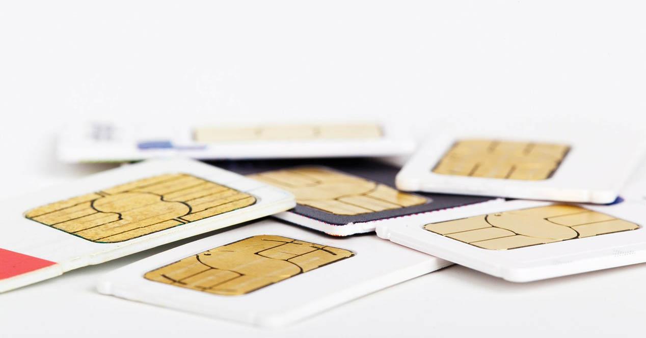 tarjetas SIM