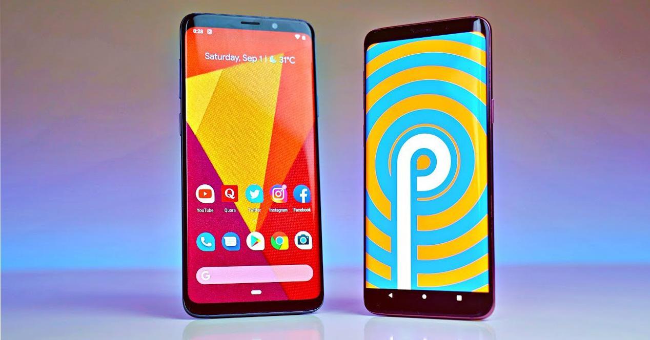 Actualización de Android 9 Pie para el Galaxy S9