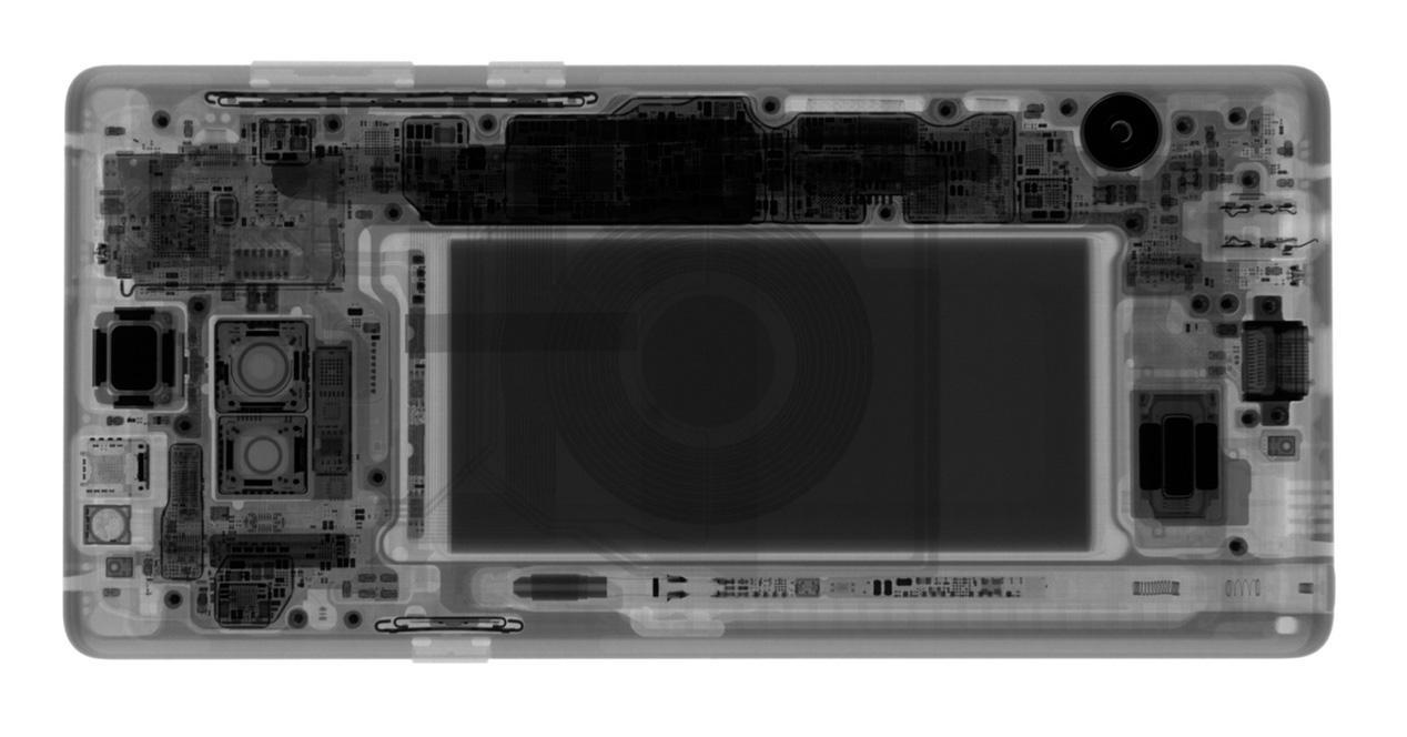 Batería de un Samsung Galaxy Note