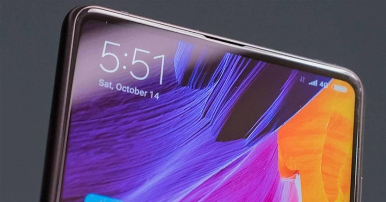 Frontal de un smartphone Xiaomi
