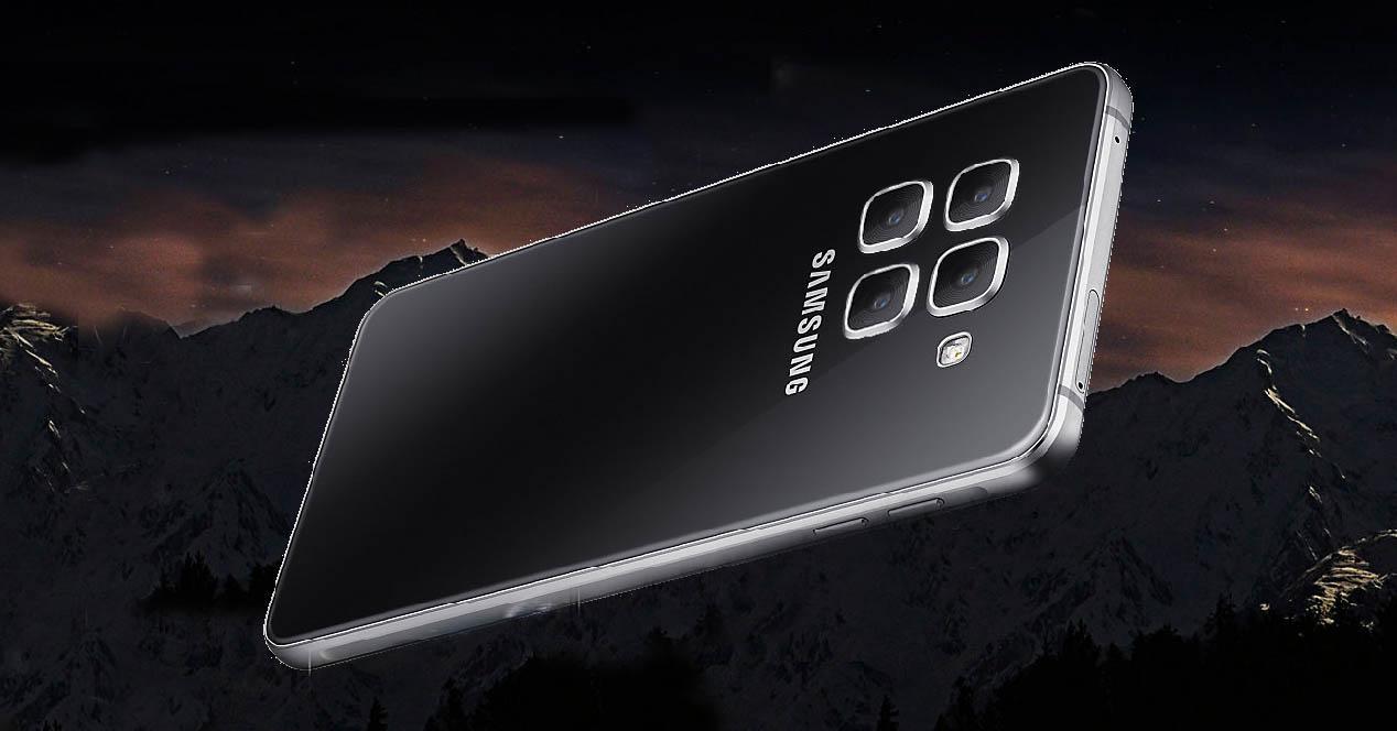 Galaxy A9 4 camaras