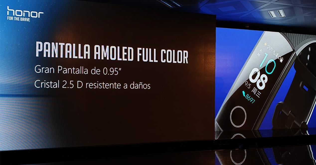 Presentación de la pulsera inteligente Honor Band 4 en España