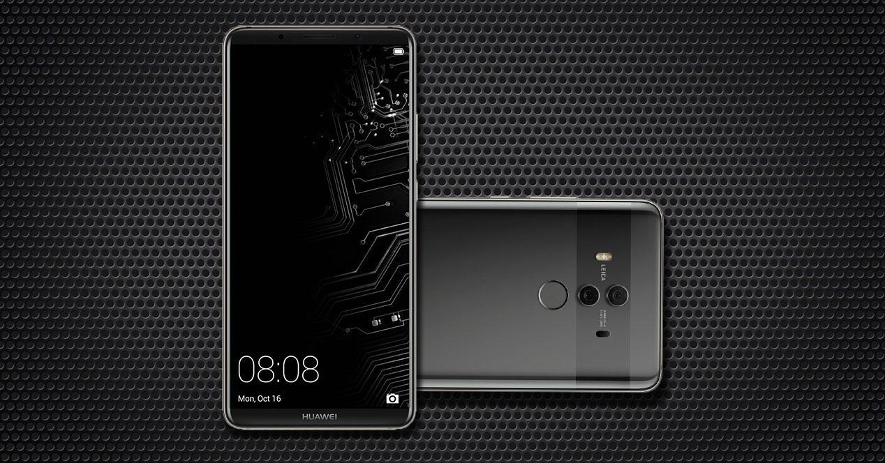 Huawei Mate 10 Pro en color negro