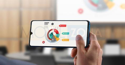 Huawei Mate 20 x display gráficos