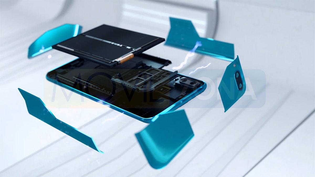 Huawei Y9 2019 partes