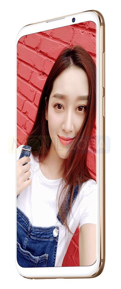 Meizu 16X con chica en pantalla