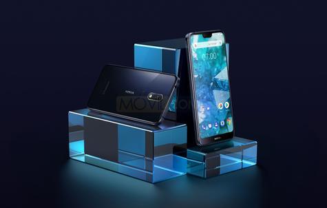 Nokia 7.1 bodegón