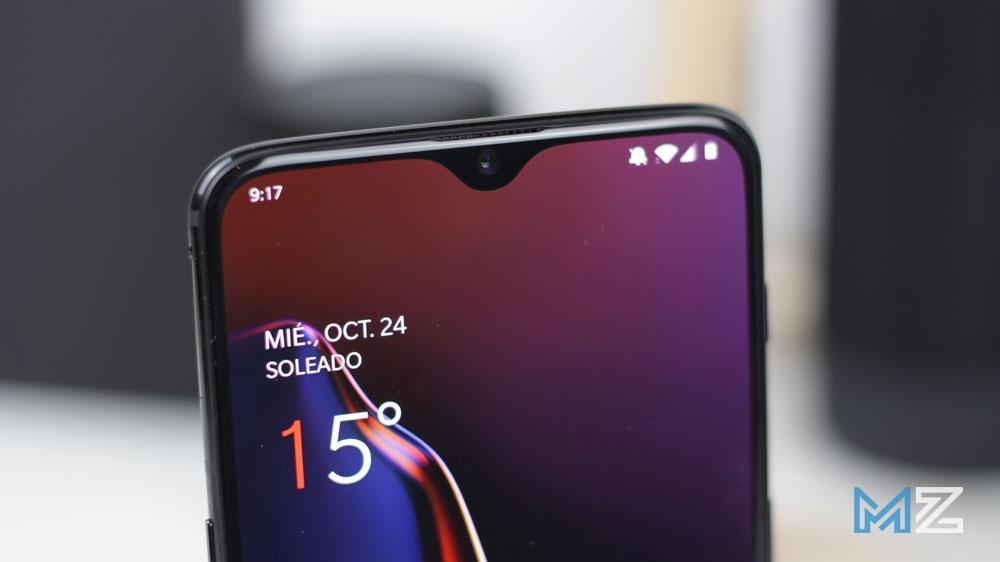Notch del OnePlus 6T