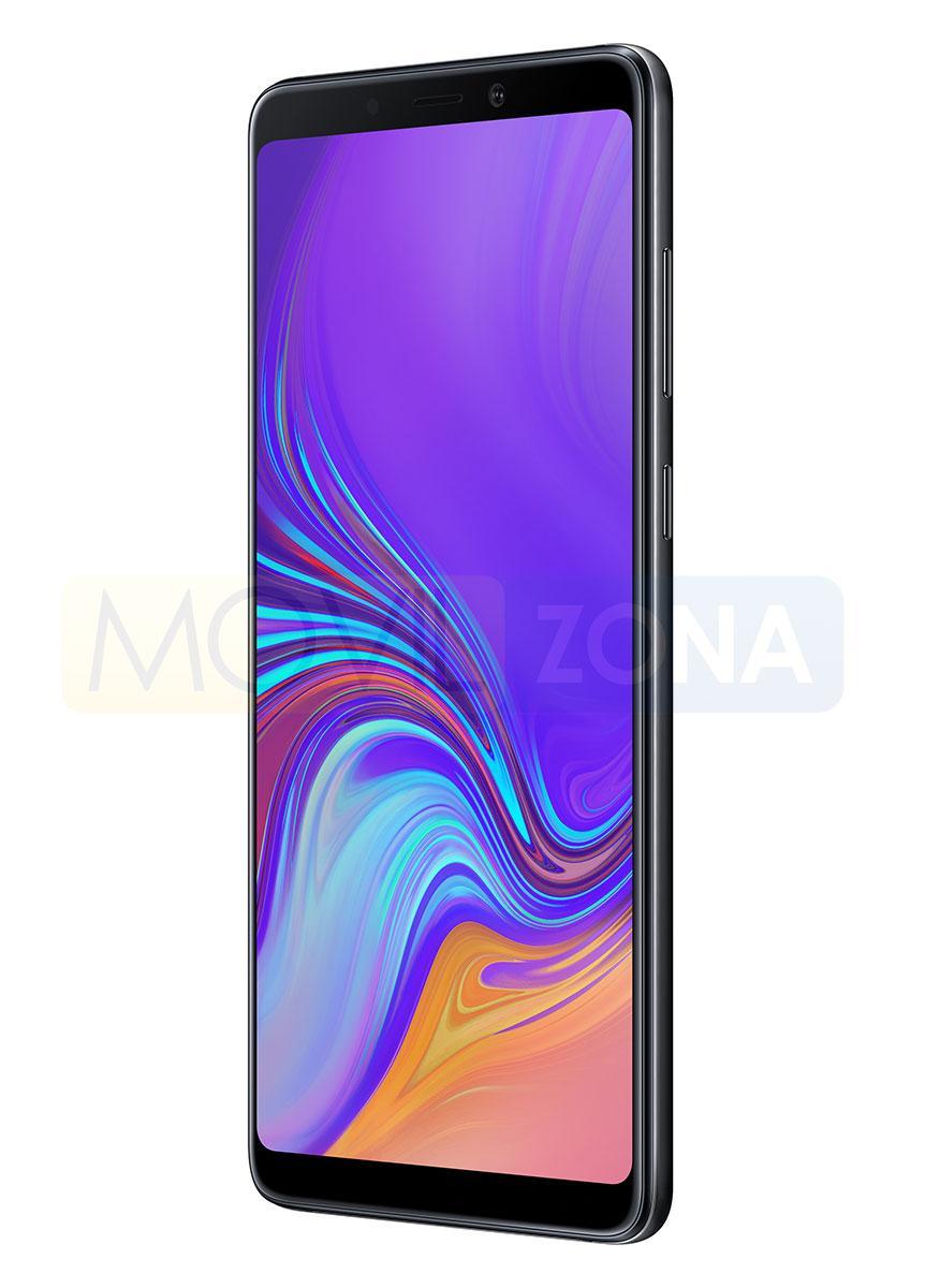 Samsung Galaxy A9 de color negro