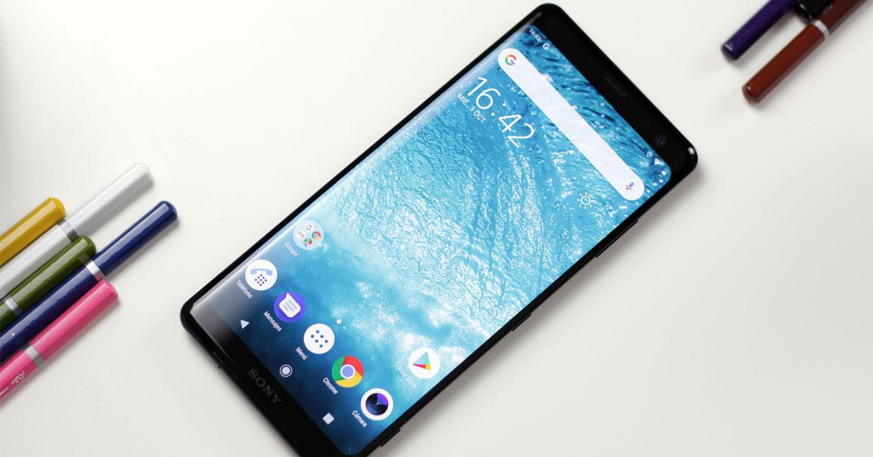 Teléfono Sony Xperia XZ3