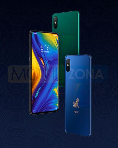 Xiaomi Mi Mix 3 azul