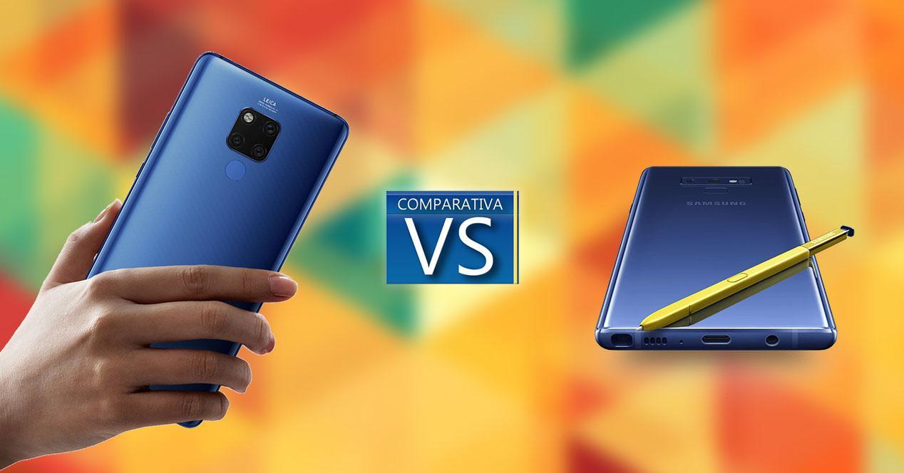 Comparativa Huawei Mate 20 X