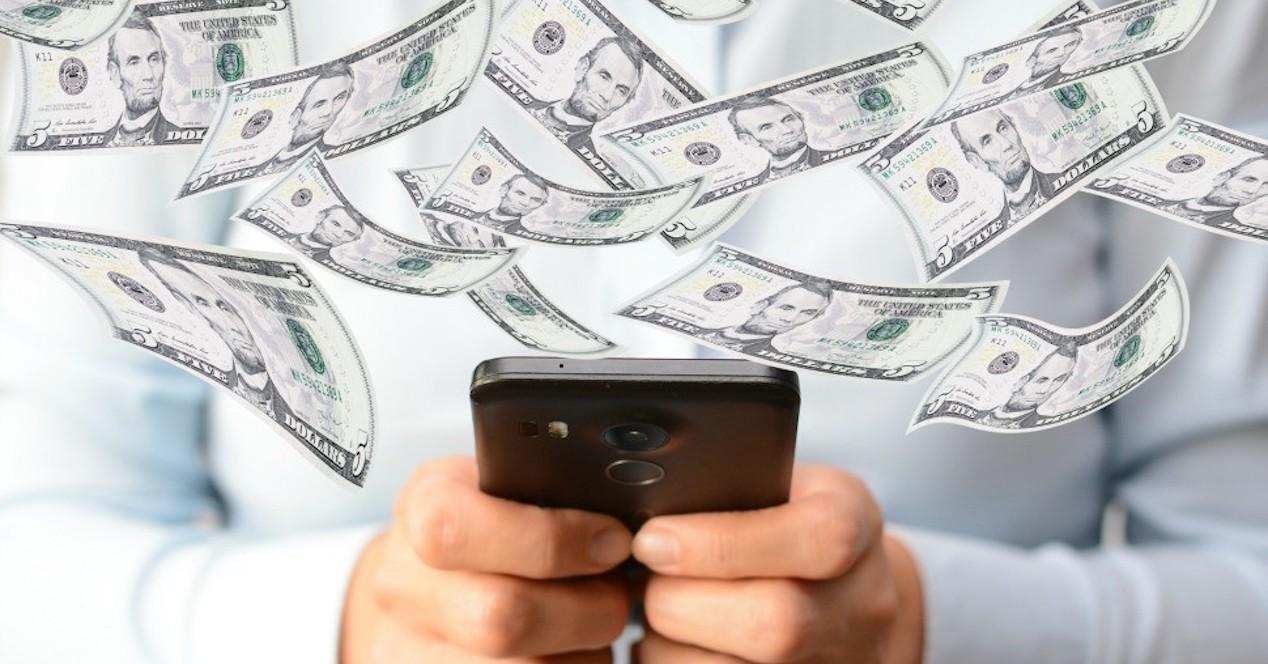 dinero smartphone