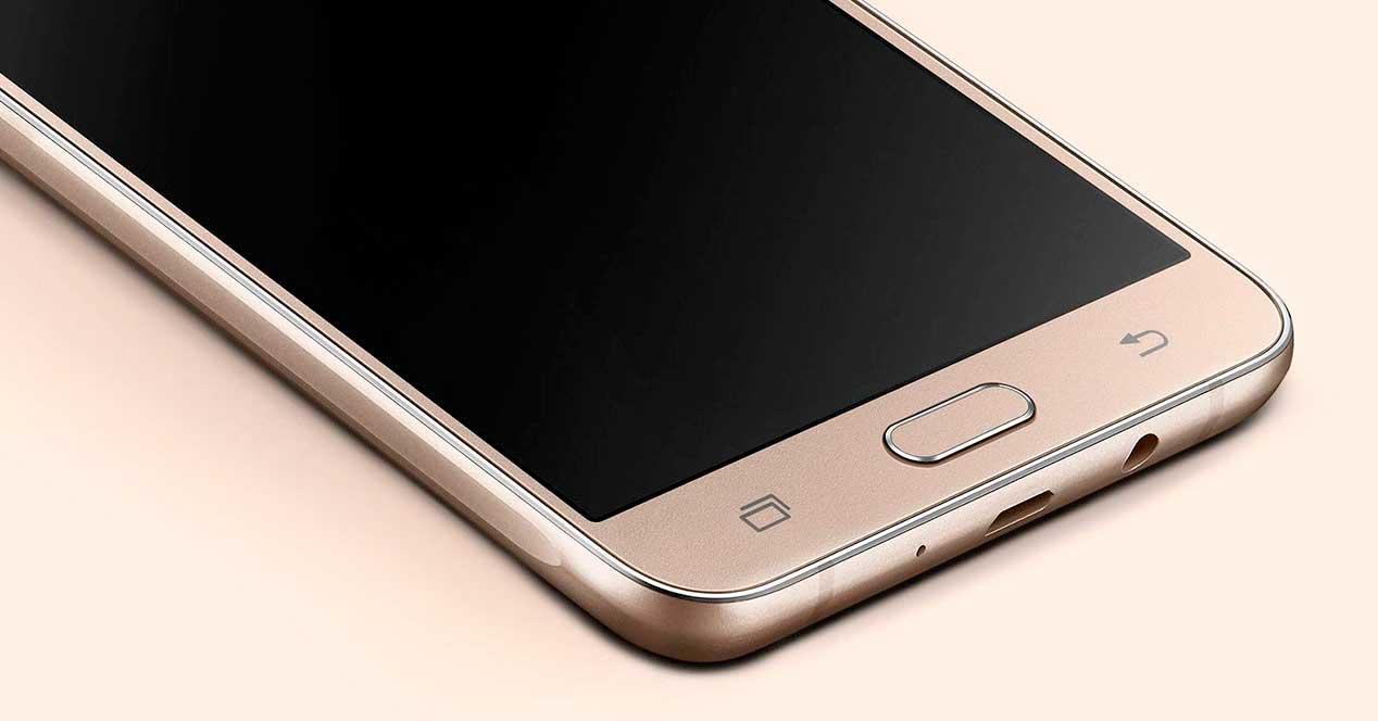 Android 8.1 del Samsung Galaxy J7 (2016)