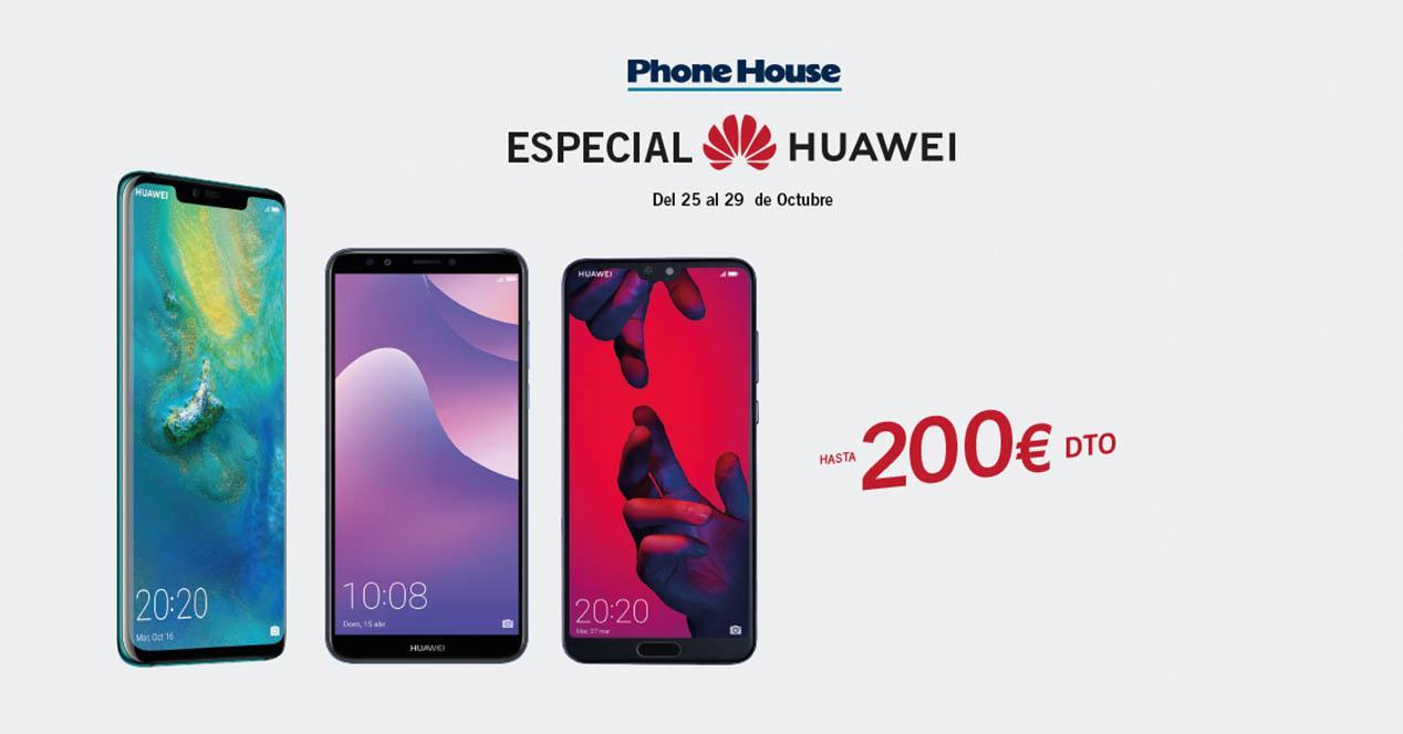 Descuentos Huawei TPH