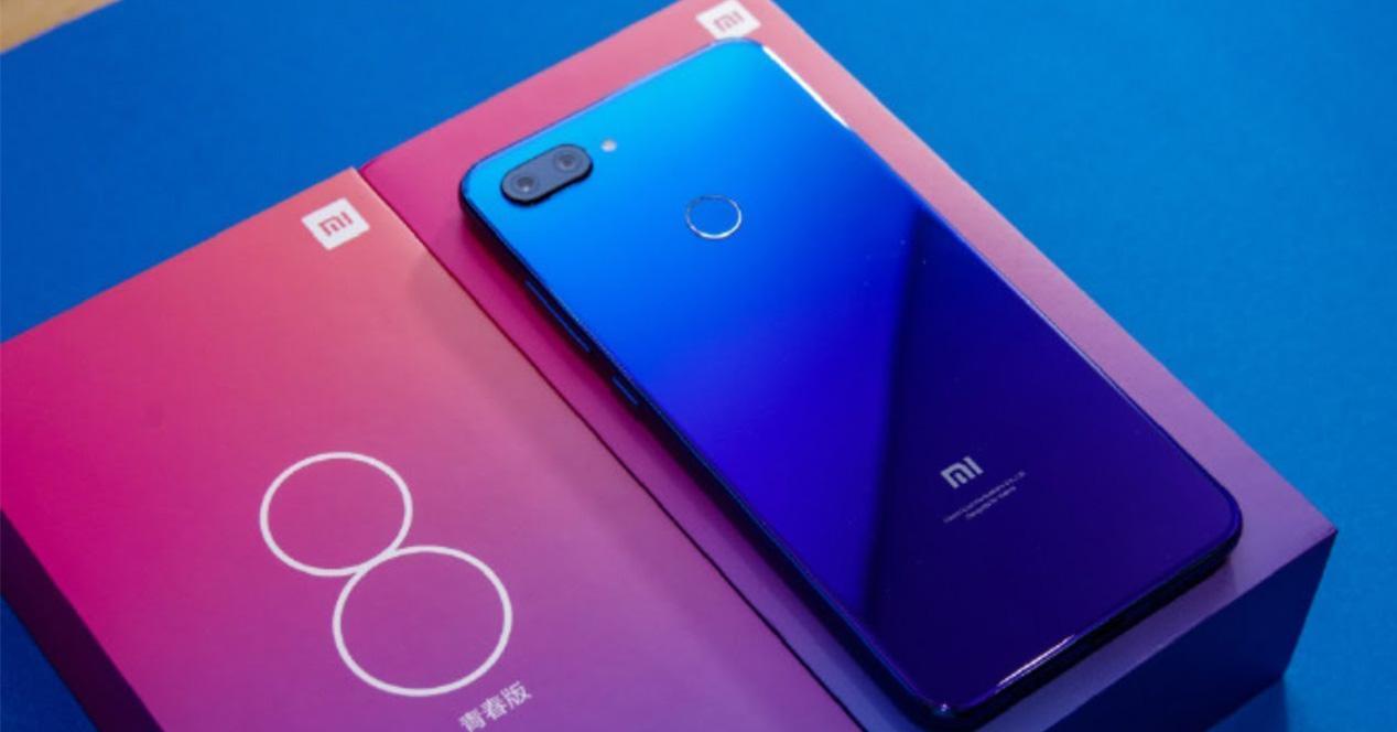 Pack de venta del Xiaomi Mi 8 Lite