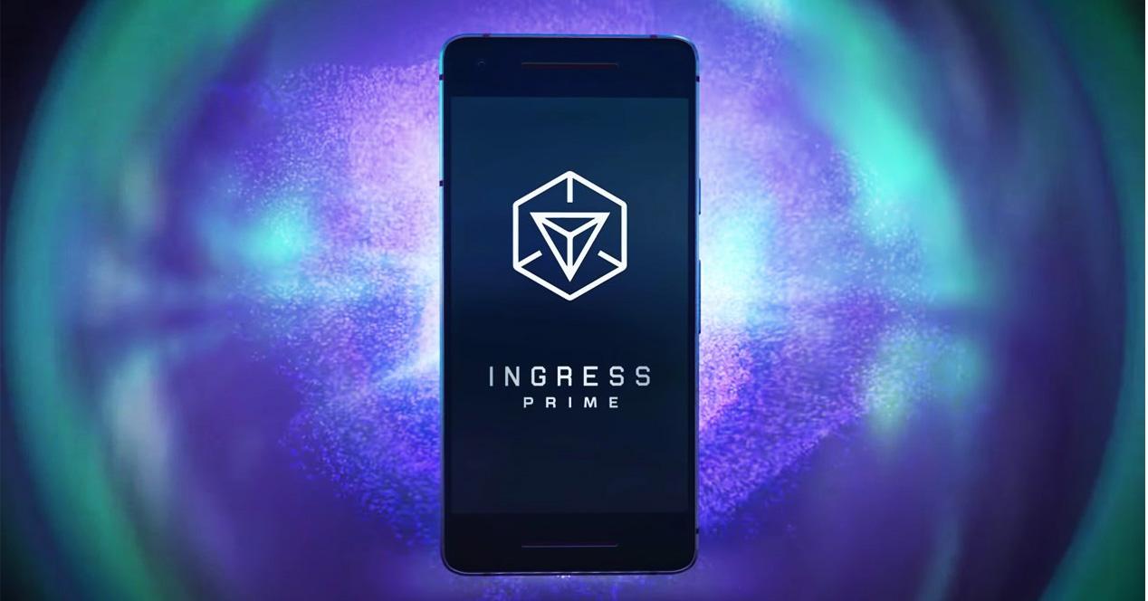 Actualización del videojuego Ingress Prime
