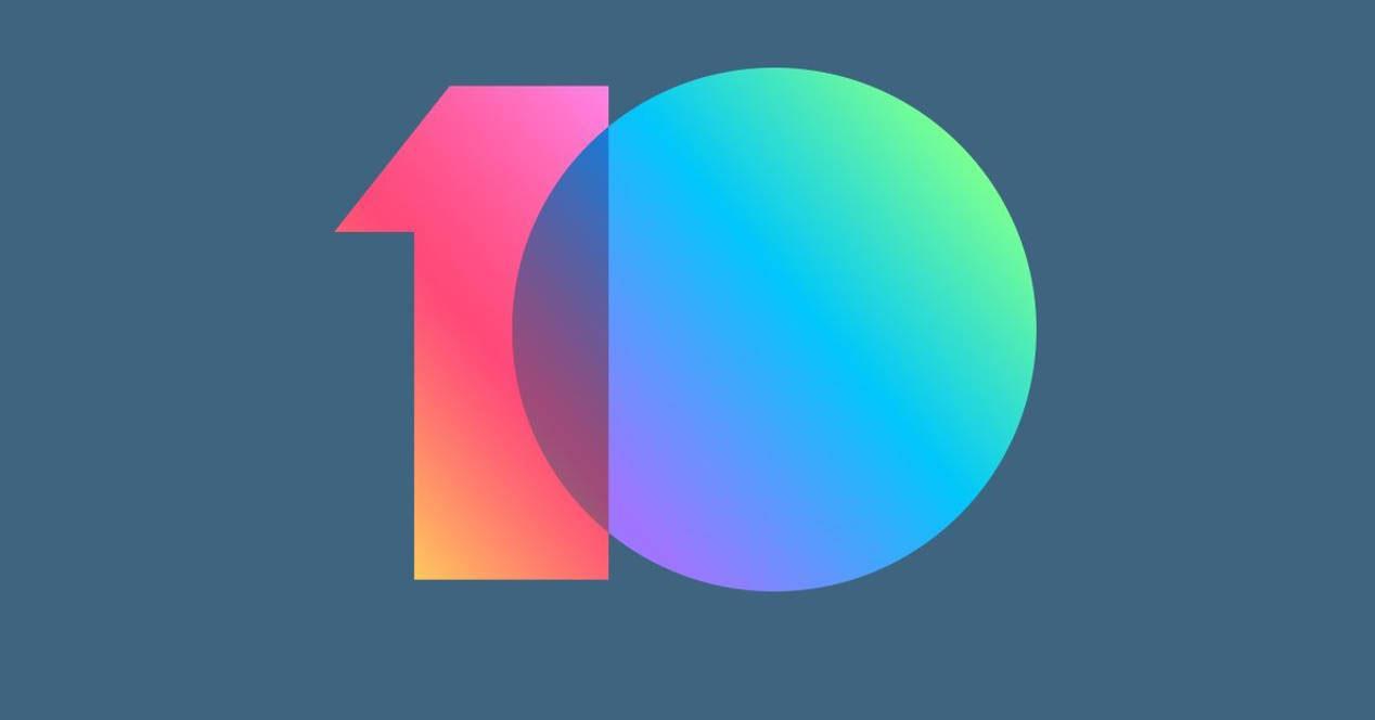 Logotipo de MIUI 10