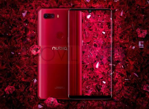 Nubia Z18 rojo brillante
