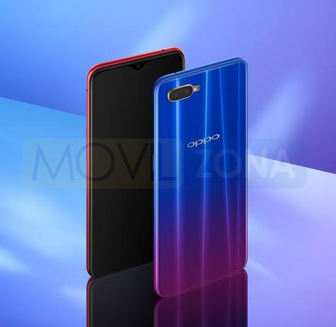 Oppo RX17 Neo azul
