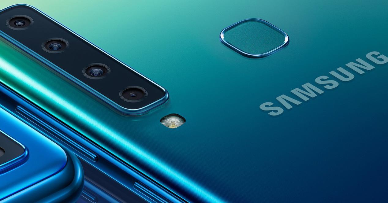 Samsung Galaxy con seis cámaras