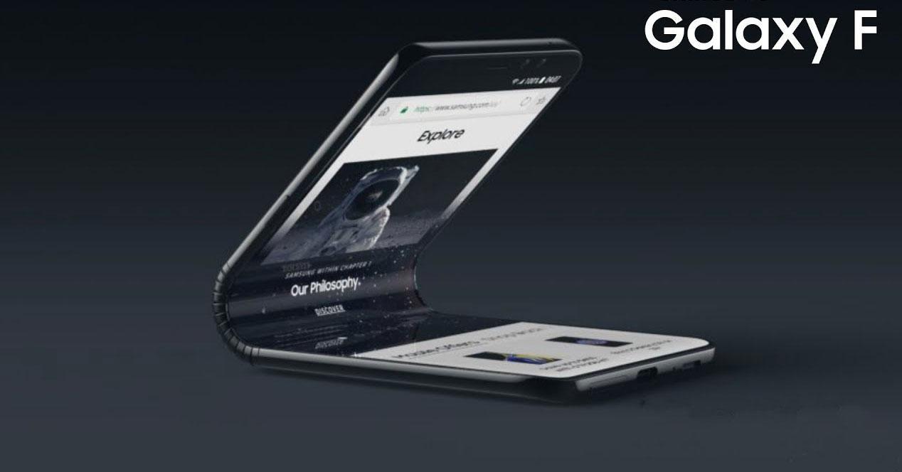 Posible diseño Samsung Galaxy F
