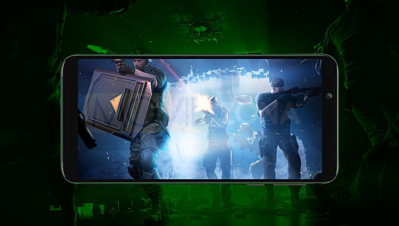 Xiaomi Black Shark Halo pantalla