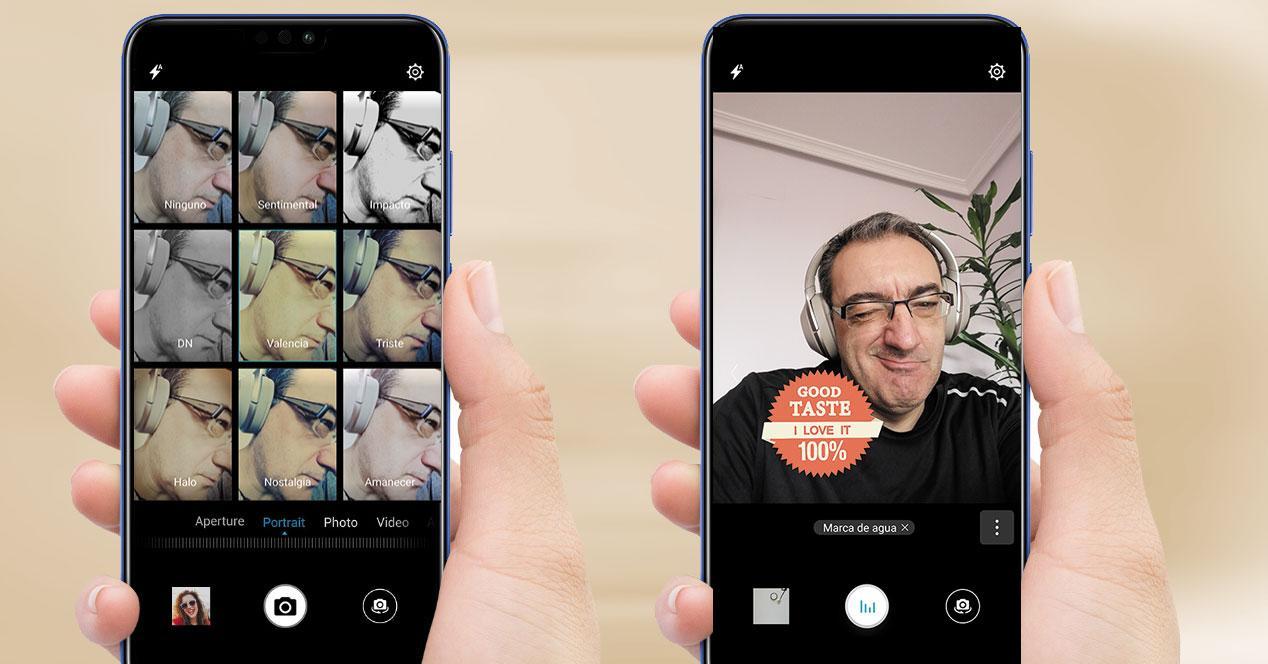 Selfies con Honor 8X
