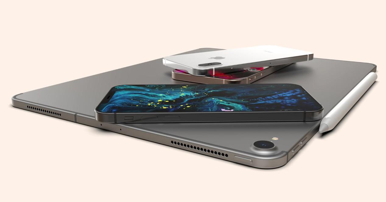 Concepto de diseño del iPhone de 2019