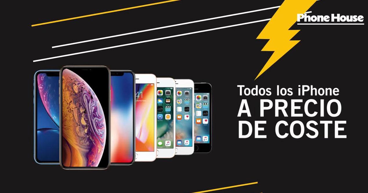 Promoción iPhone Phone House precio octs