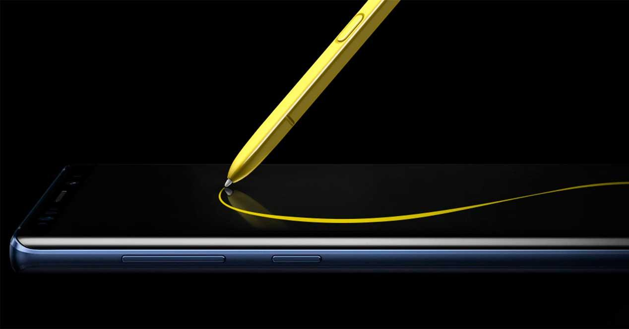 pantalla del Samsung Galaxy Note 10