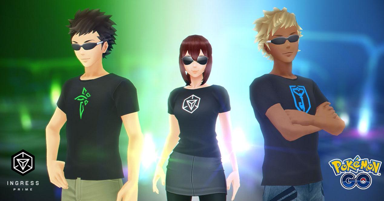 Nuevas camisetas en Pokémon Go