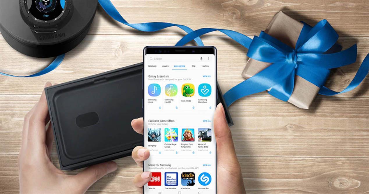 Galaxy Apps en Samsung
