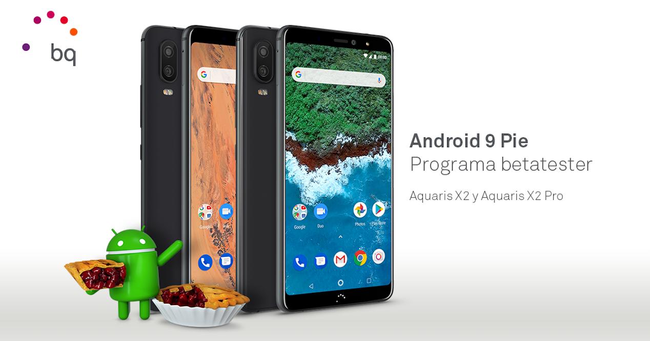 android 9 pie bq aquaris x2