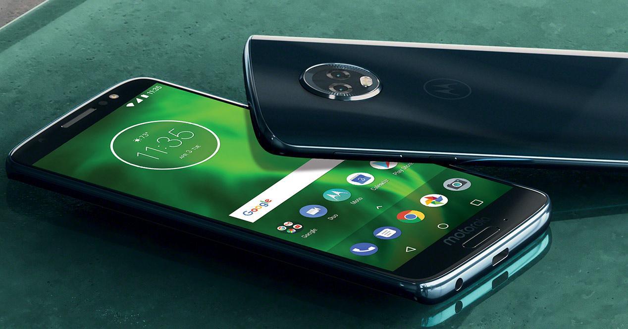 Cámara de un smartphone de Motorola