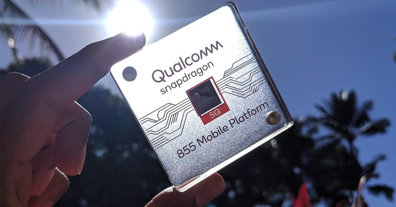 Chipset Snapdragon 855 con conectividad 5G
