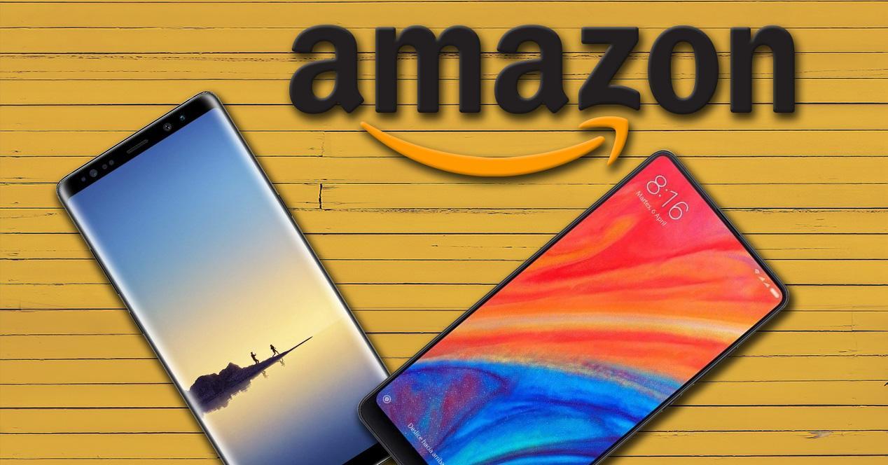 Ofertas de smartphones en Amazon