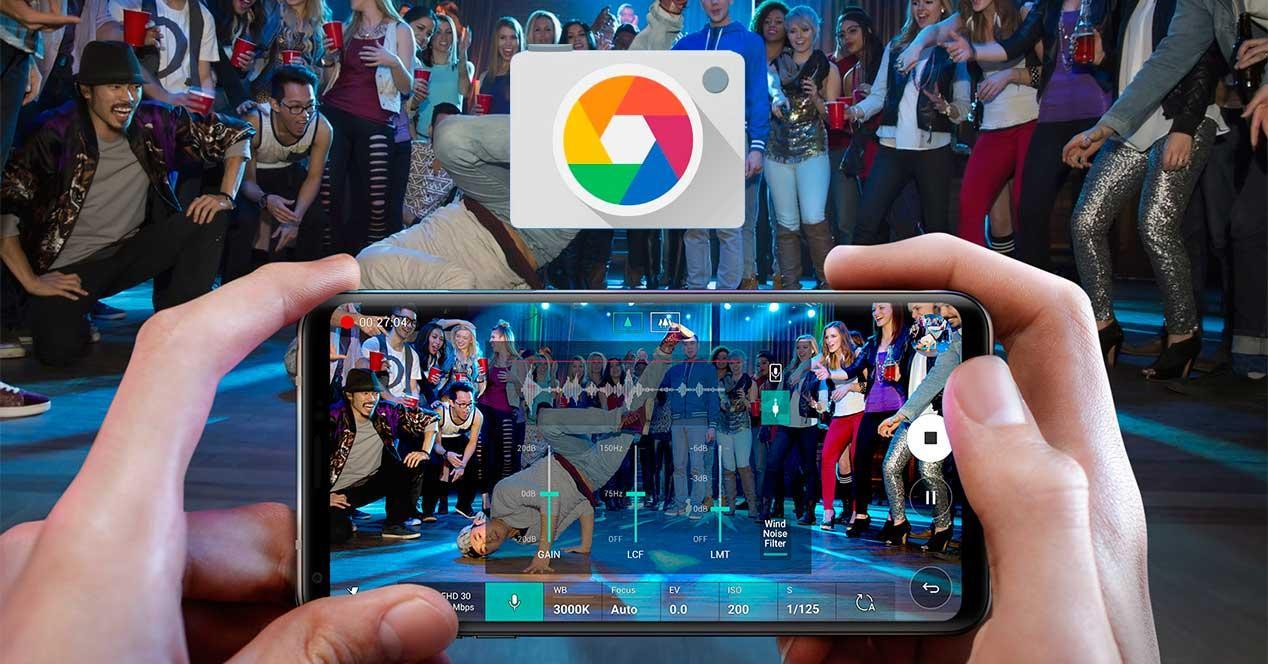 cámara de Google con Night Sight