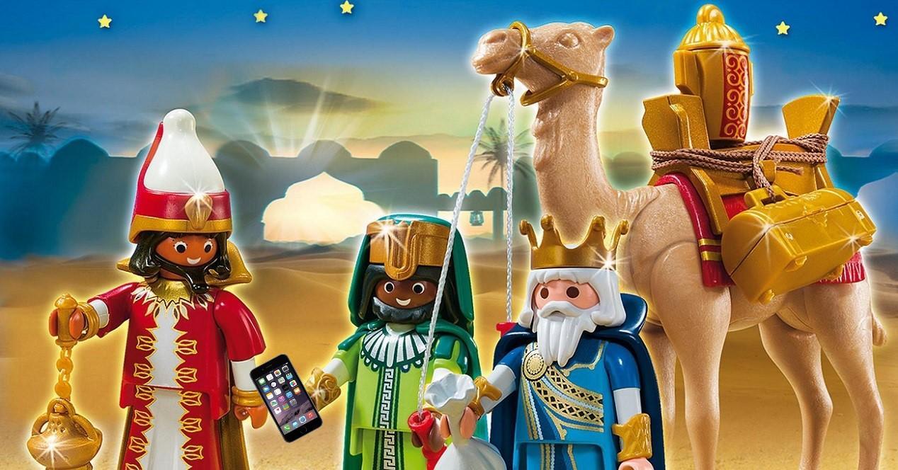 reyes magos juguete