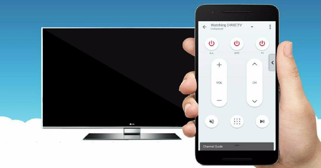 smartphone tv controller
