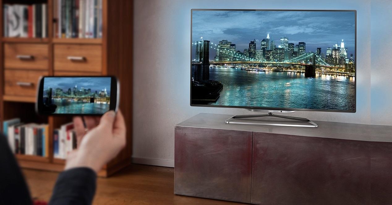 television-smartphone