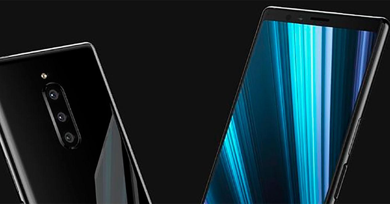 pantalla delSony Xperia XZ4