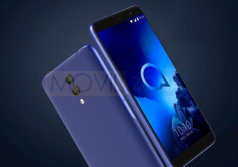 Alcatel 1X azul