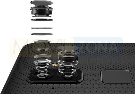 BlackBerry Evolve lente doble cámara