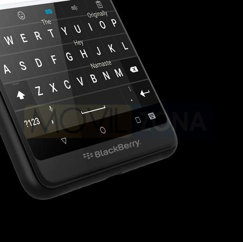BlackBerry Evolve X teclado