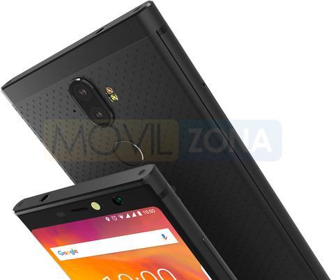 BlackBerry Evolve X negro