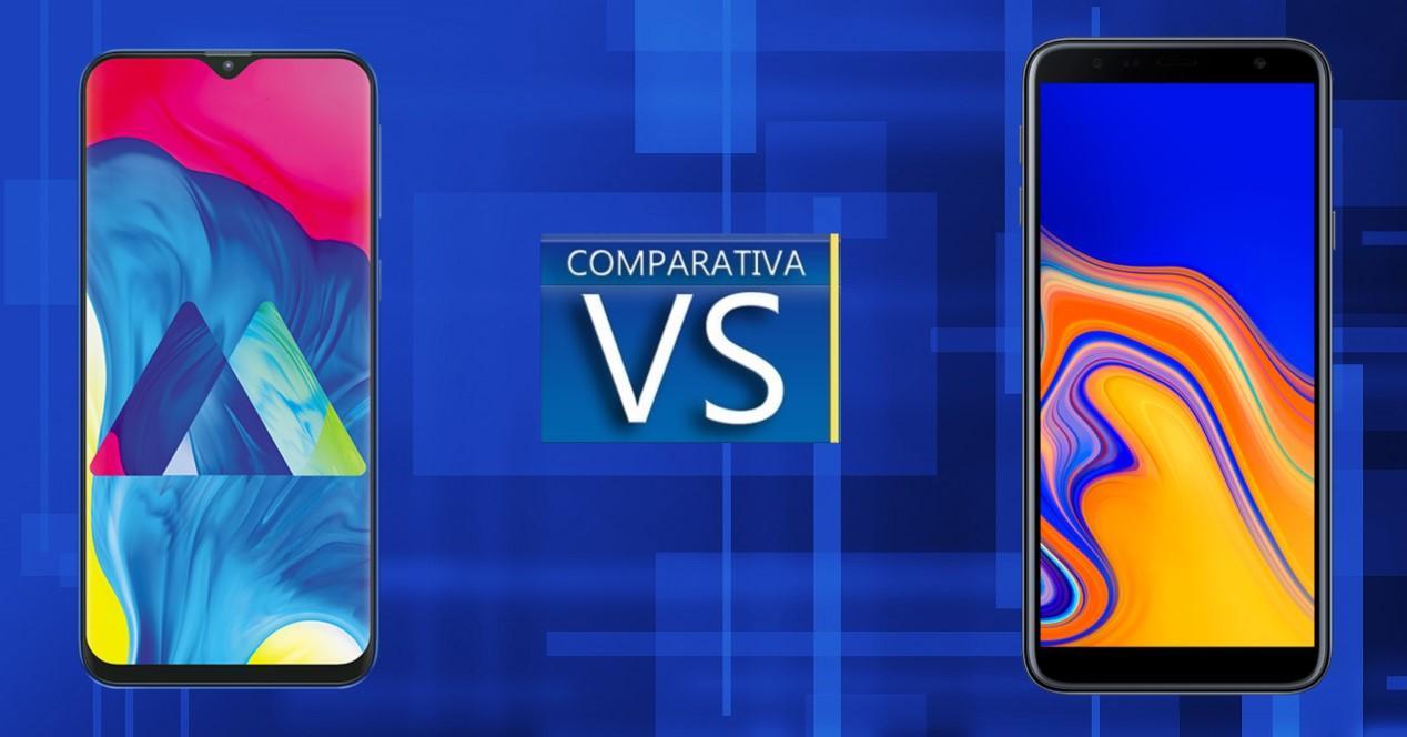 Comparativa Galaxy M10 vs Galaxy J4 Plus