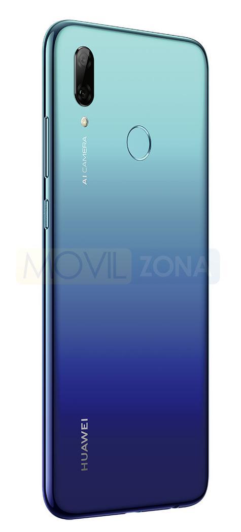 Huawei P Smart 2019 azul detalle de la cámara