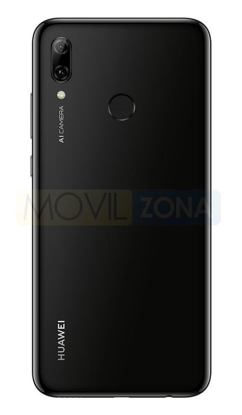 Huawei P Smart 2019 negro cámara y huella dactilar